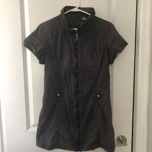 Bench full zip grey dress